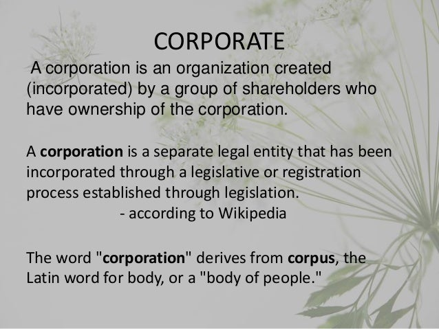 Corporate governence Indian view