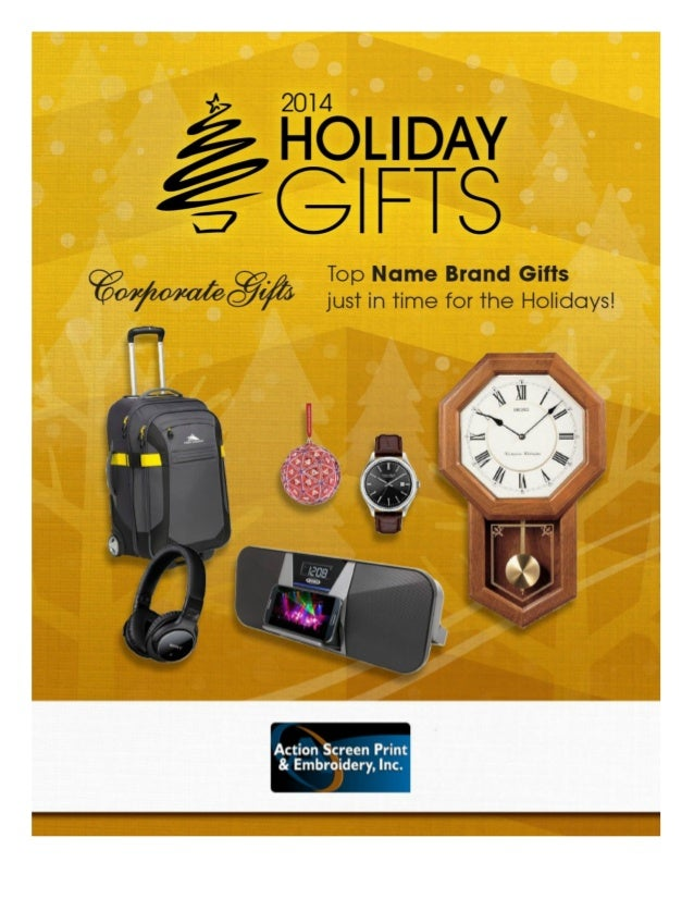 Action Screen Print Embroidery Holiday Corporate Gifts