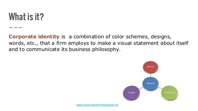 what is corporate identity pdf