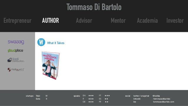 Corporate innovation in the financial industry, banking, insurance by tommaso di bartolo   slideshare Slide 3