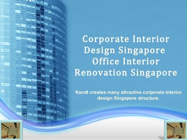 Corporate interior design singapore office interior for Corporate interior design singapore