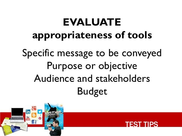 evaluate your audience summary The audiences who may evaluate your business messages the variables  some depend on abstracts or summaries prepared by other people none of these.