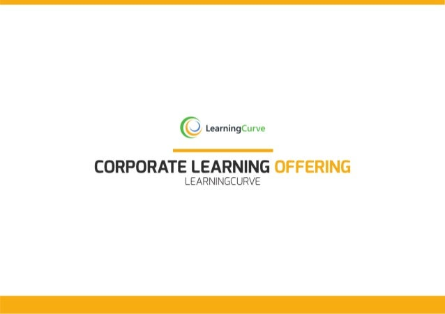 LearningCurve Corporate Learning Offering