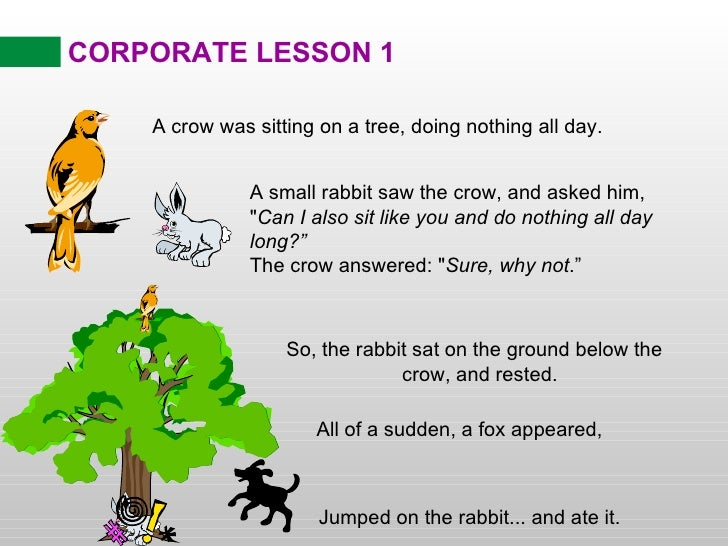 Corporate Lessons Cartoons
