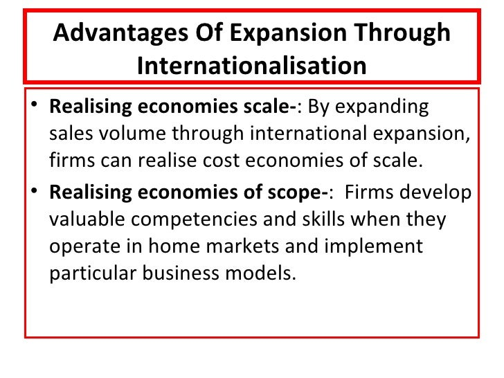 disadvantages of internationalisation in businesses State 5 advantages and disadvantages of international  state 5 advantages and disadvantages of international business  disadvantages international.