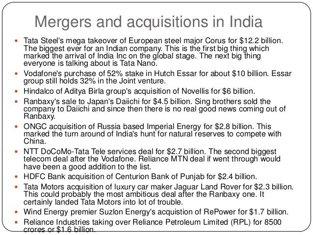 legal issues in tata corus deal The issues reflected in the company's financials  finally, in 2007, tata steel bought corus in a $12 billion deal, what was the biggest foreign.