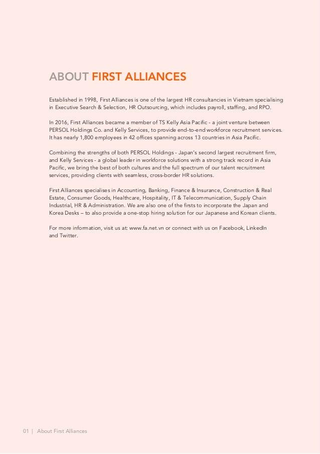 First Alliances' Corporate Media Kit Slide 2