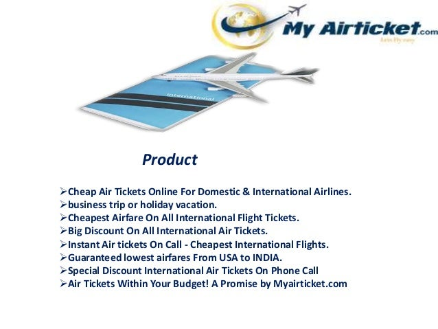 Instant Airtickets On Call - Cheapest International Flights
