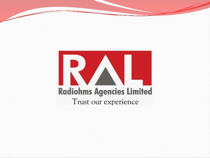At RAL…     India's largest Channel Distribution Company