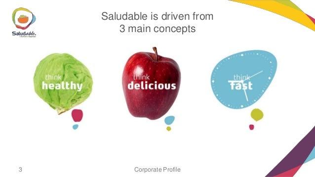 Saludable profile Slide 3