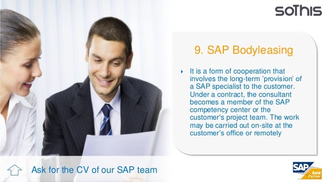 sothis corporate presentation  sap unit