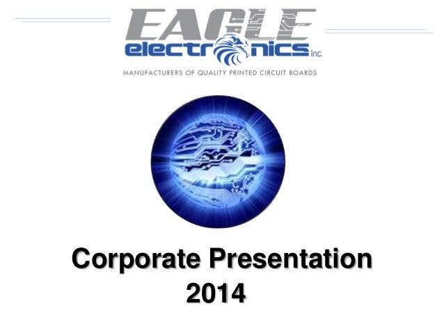 Corporate Presentation 2014