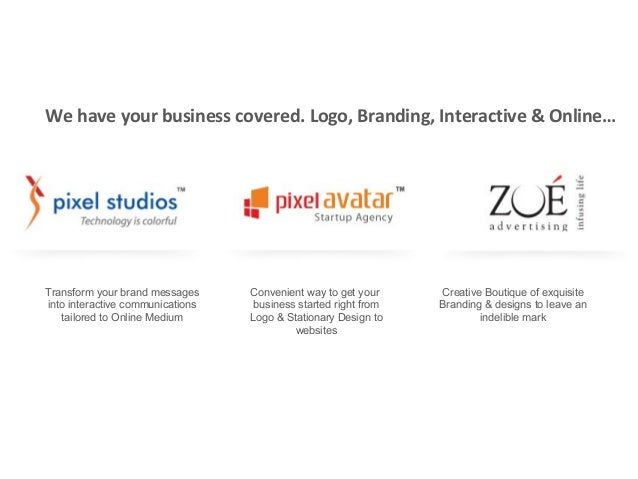 We have your business covered. Logo, Branding, Interactive & Online…  Transform your brand messages into interactive commu...