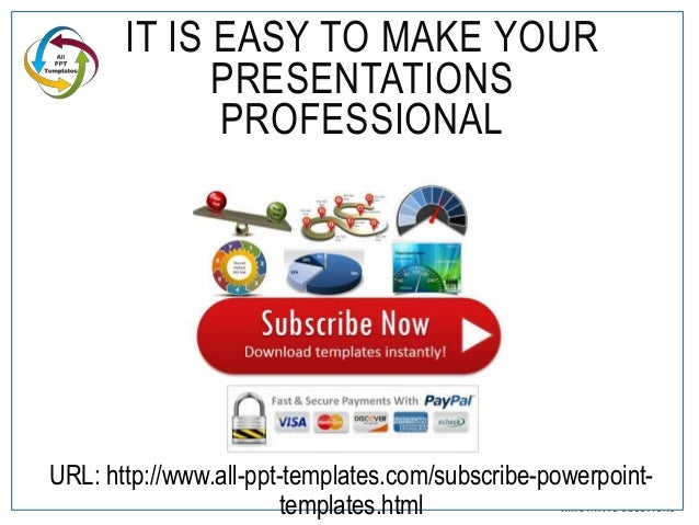 PowerPoint Corporate Presentation : Design Makeover Example