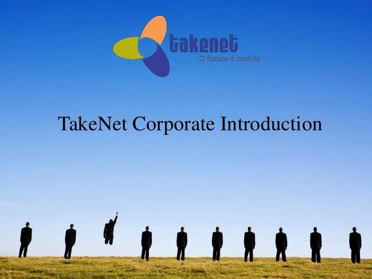 TakeNet Corporate Introduction<br />