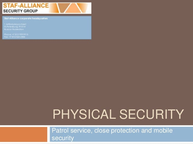 Alliance Security Group 35
