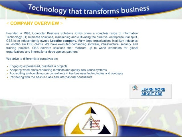 Information Systems In Business Development