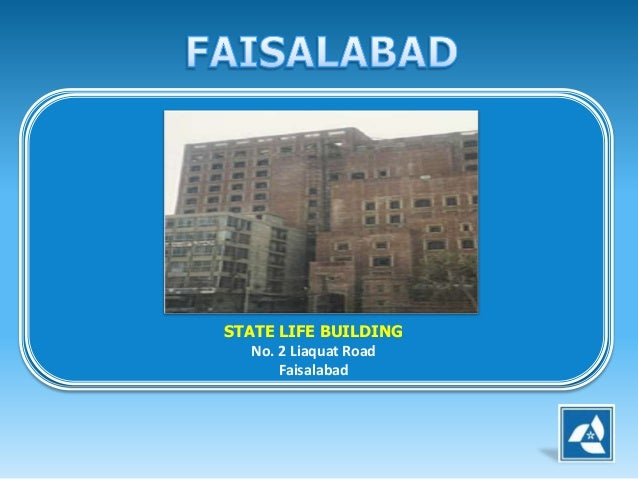 State Life Insurance Building Faisalabad