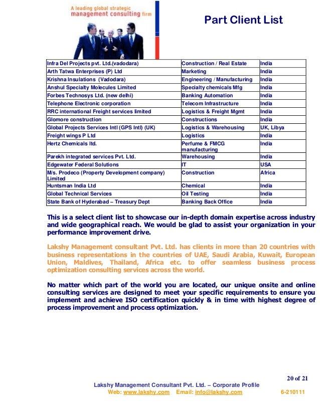 Lakshy Management Consultant