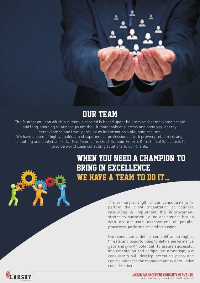 corporate profile lakshy management consultant pvt  ltd