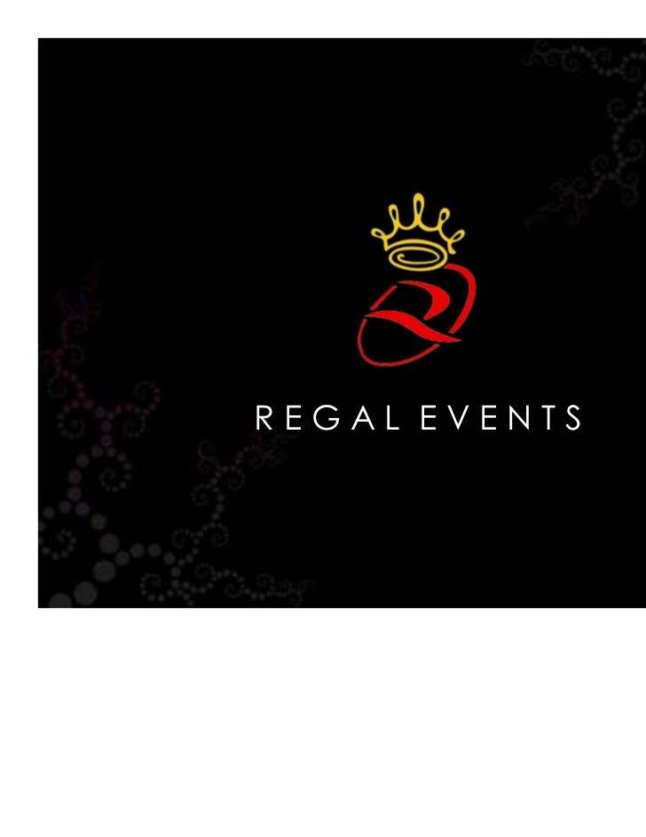REGAL EVENTS