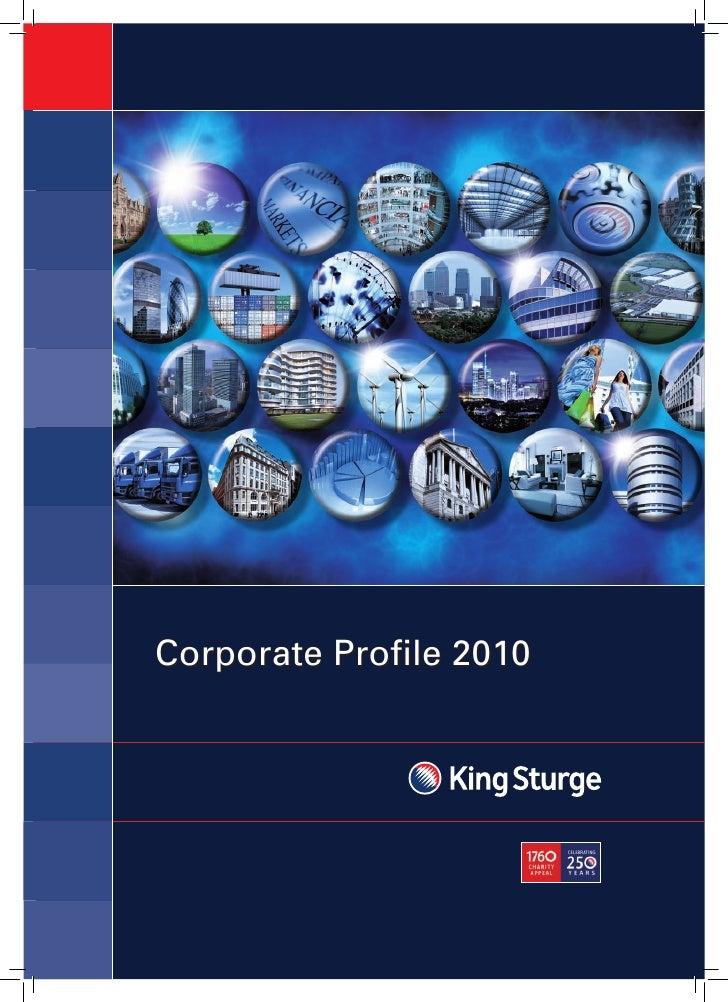 Corporate Profile 2010
