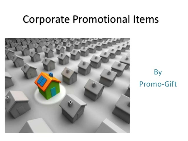 Corporate Promotional Items By Promo-Gift