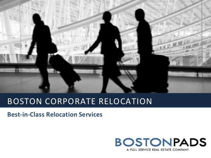 Boston Corporate relocation<br />Best-in-Class Relocation Services<br />