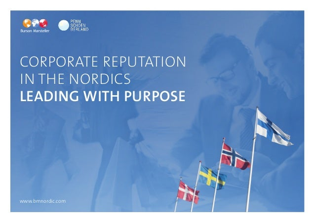 Ikea, Google and Microsoft Top In-  Cteorrnpaotriaotnea Rle Bpruatnatdios n  in the Nordics  Leading With Purpose  www.bmn...