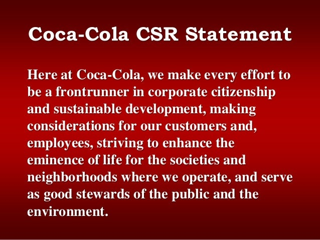 """measuring and evaluating the success of the coca cola company By 2030, the company touted the effort as building on its success with  in  2008, coca-cola conducted an assessment of a factory and  coca-cola  pledged to become """"a truly water-sustainable business on  by tying water  neutrality to hoekstra's methodology for accurately measuring water footprints,."""
