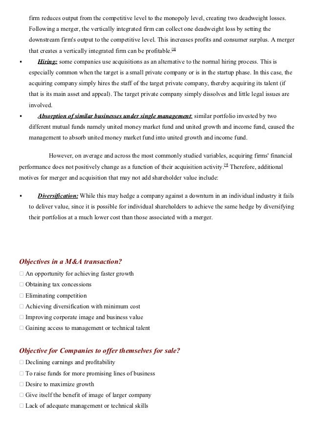 Corporate Restructuring Case Study Example | Topics and ...
