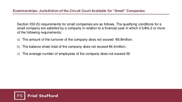 Corporate Restructuring Benefits of the Companies Act 2014