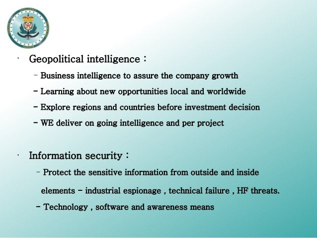 The Difference Between Intelligence and Espionage