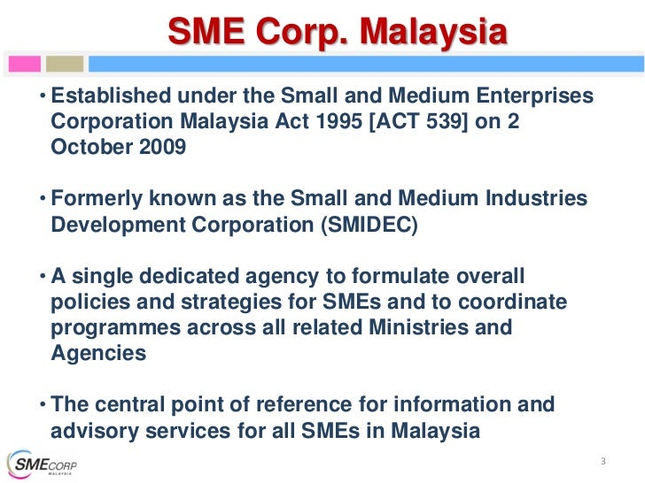 Smeinfo Official National Sme Definition