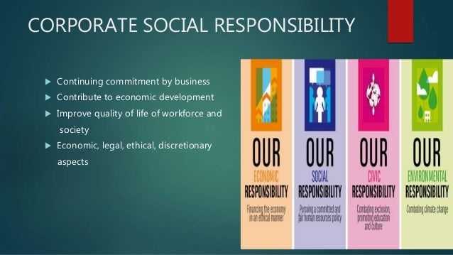 Corporate social relationship as responsibility Slide 2