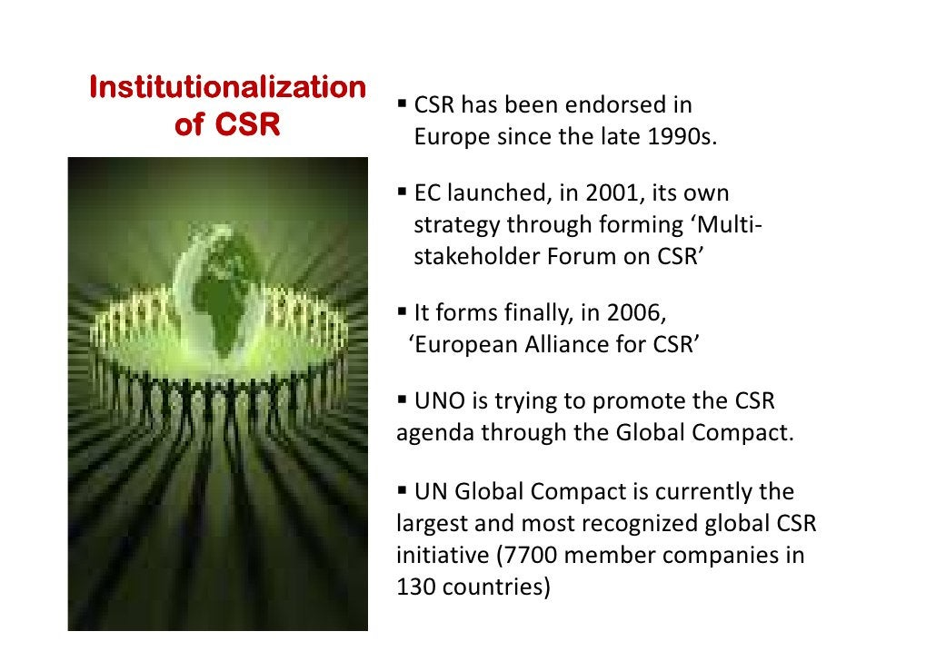 Future Developments    on    CSR in Tourism Millennium Declaration by 189 countries (2000) was a milestone UNWTO launches ...
