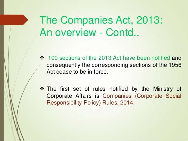 companies corporate social responsibility rules 2014 pdf