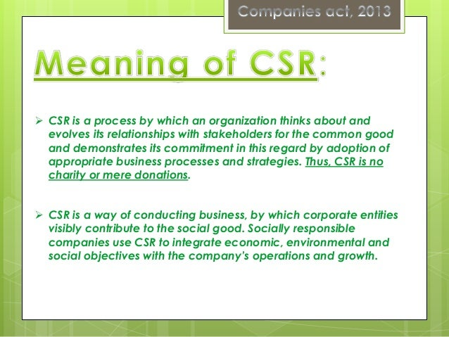 corporate social responsibility csr within two companies Exploring corporate social responsibility: success within the field of csr, these two companies sr communication has been chosen as the bas is of.