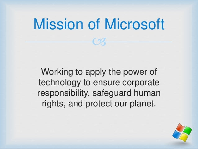 microsoft corporate social responsibility 2018