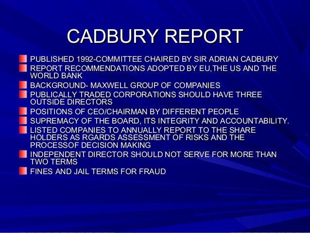 corporate social responsibility of cadbury pdf