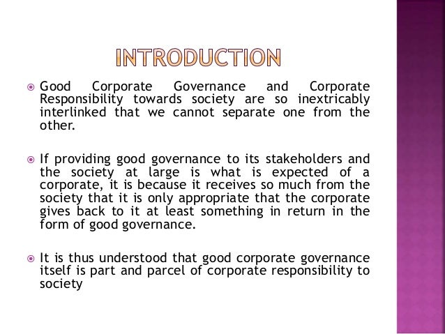 functions of corporate social responsibility