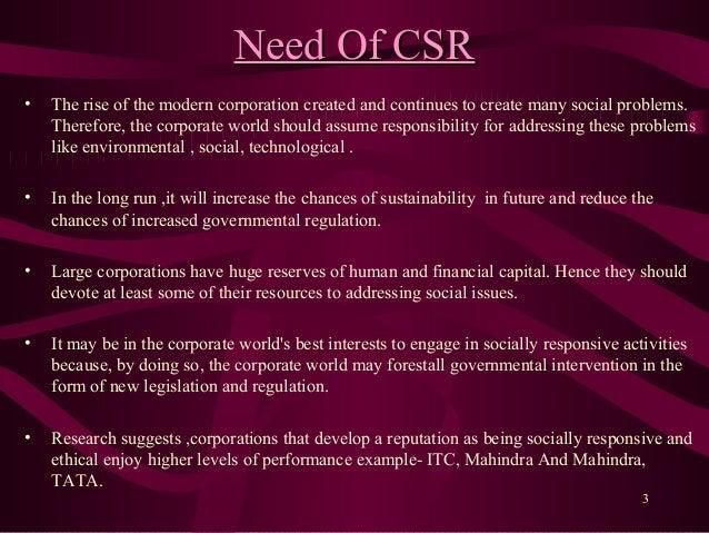 Corporate social responsibility-vivek shekhar gaur Slide 3