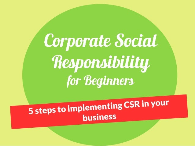 What is Corporate Social Responsibility? Definition by the European Commission