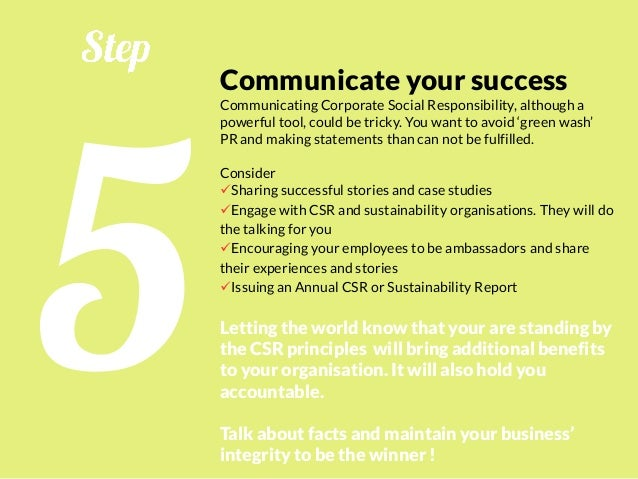 Corporate Social Responsibility for Beginners