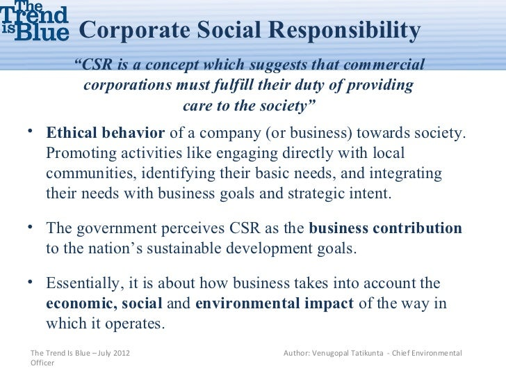 corporate social responsibility activities impact on consumer behavior The effect of perceived csr on customer loyalty  effects of csr activities on consumer behavior will be  212$corporate$social$responsibility$activities$.