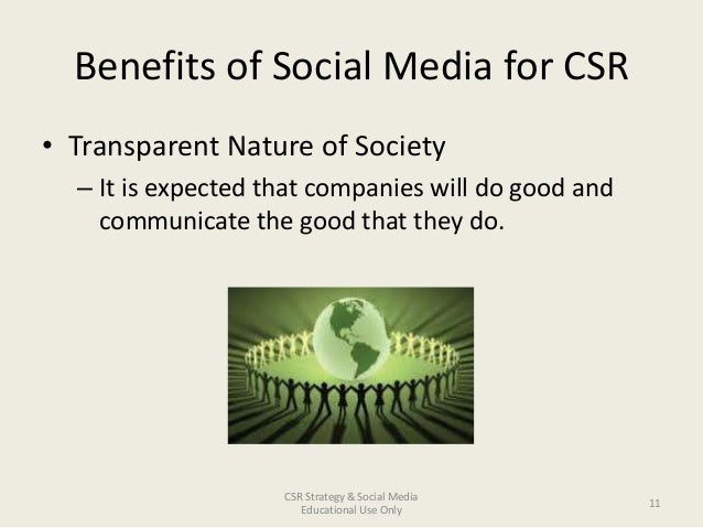 corporate social responsibility benefits pdf