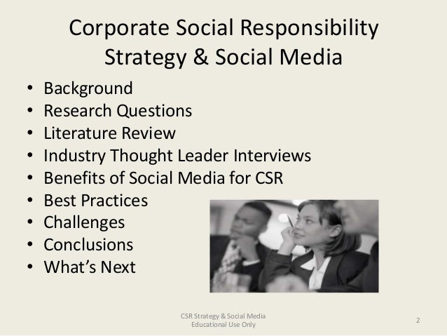 Essay corporate social responsibility 3353 2