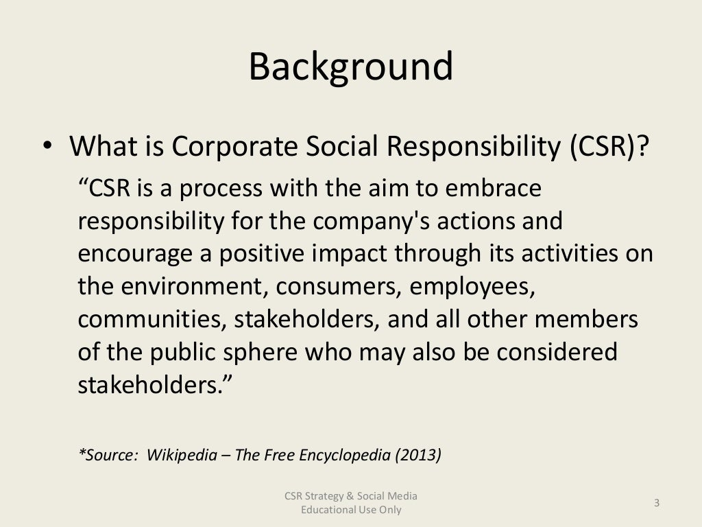 csr codes essay There are many different definitions and interpretations for corporate social responsibility, but all with considerable common ground.