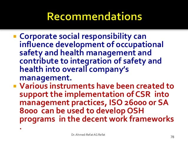 companies for social responsibility essay Essay on the arguments about corporate social programmes to ease integration of minority groups and women into company essay on corporate social responsibility.