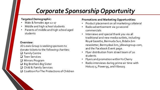 spring break 2014 corporate sponsorship package
